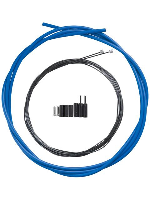 Shimano OPTISLICK Schaltzug-Set Road blau